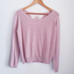 ARITZIA WILFRED FREE Pink Knit Sweater